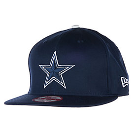 Dallas Cowboys New Era Leather Strapper Cap