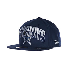 Dallas Cowboys New Era 2013 59Fifty Draft Cap
