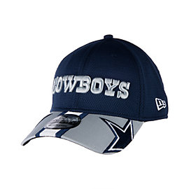 Dallas Cowboys New Era Helmet Hit Visor 39THIRTY