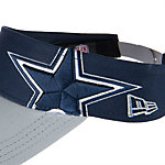 Dallas Cowboys New Era Double Tone Visor