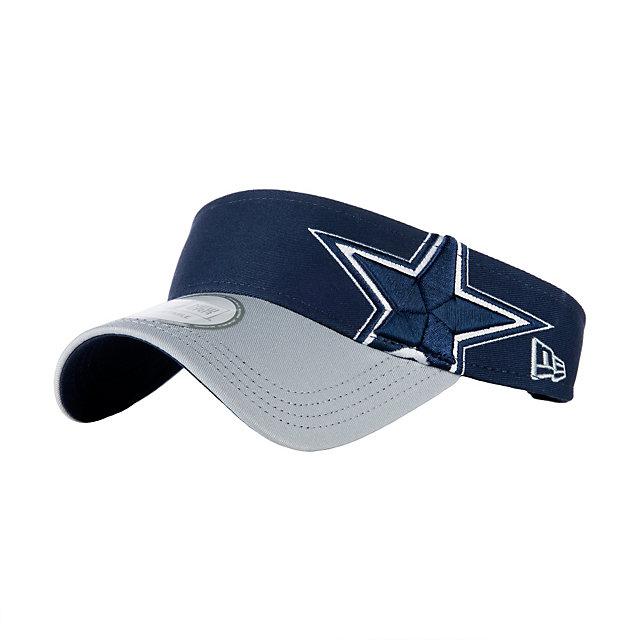 Dallas Cowboys New Era Double Tone Visor
