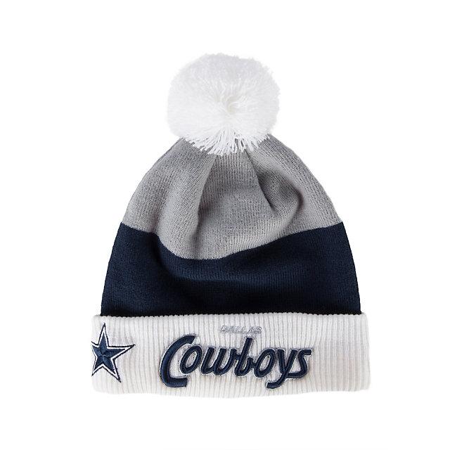 Dallas Cowboys Cuff Scripter Knit Cap