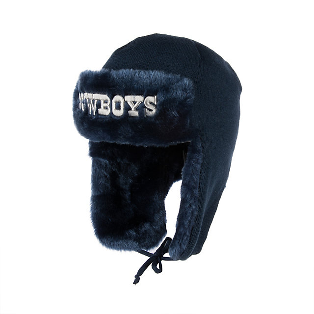 Dallas Cowboys Team Trapper Basic Knit Hat