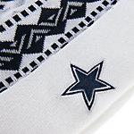 Dallas Cowboys Ivory Cuff Knit Hat