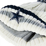 Dallas Cowboys New Era Yester Year Knit Cap