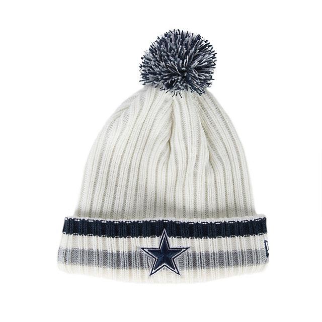 Dallas Cowboys New Era Yester Year Knit Cap