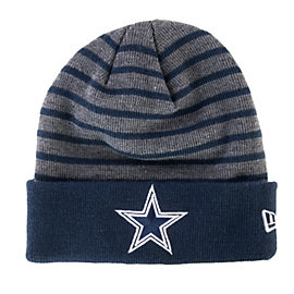 Dallas Cowboys H-Stripe Flip-Cuff Knit Cap
