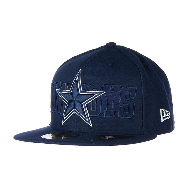 Dallas Cowboys New Era Tonal Word 59Fifty