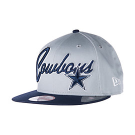 Dallas Cowboys New Era Super Script 9Fifty