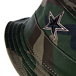 Dallas Cowboys New Era Camo Gunboat Bucket Hat