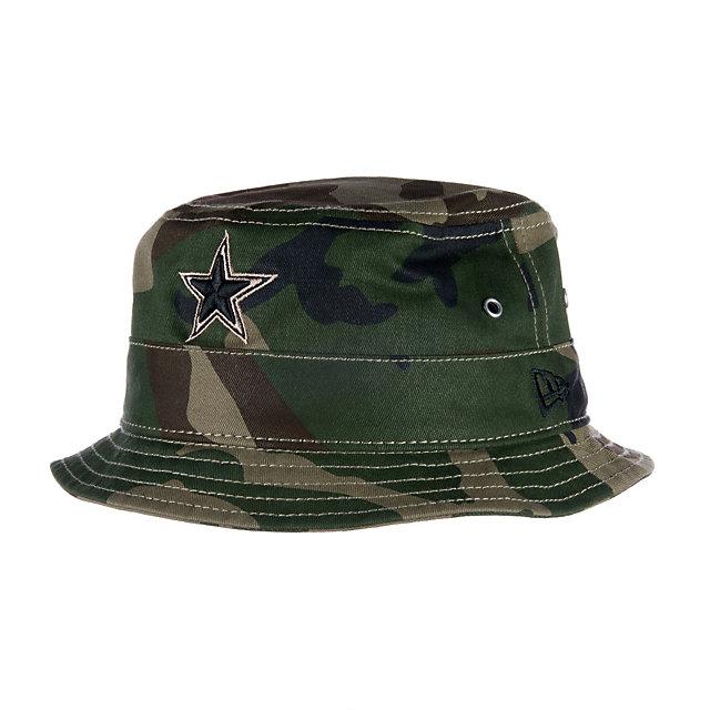Dallas Cowboys New Era Camo Gunboat Bucket Hat | Dallas ...