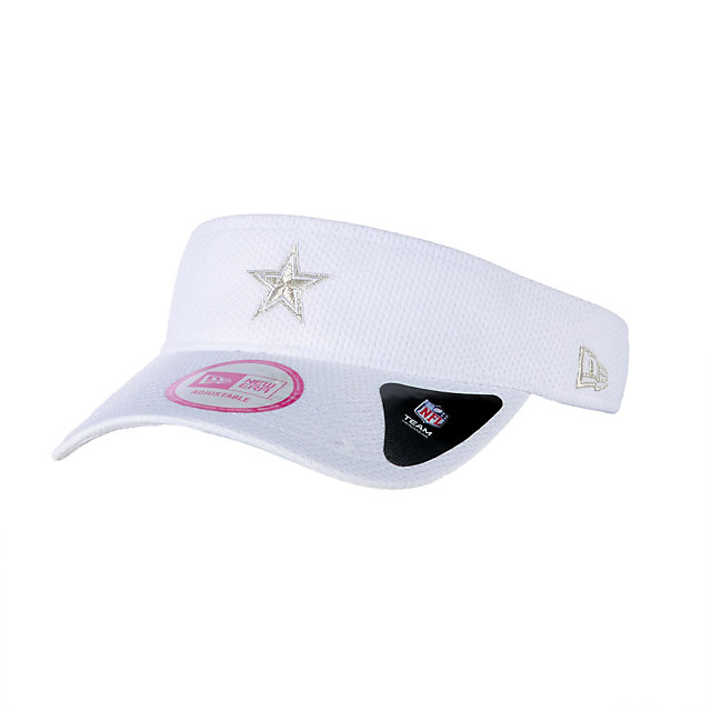 Dallas Cowboys New Era Womens Rapid Pace Visor