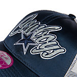 Dallas Cowboys New Era Womens Scripty Satin Cap