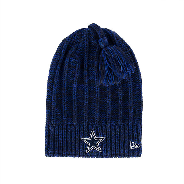 Dallas Cowboys Womens Slouch Plus Knit Hat