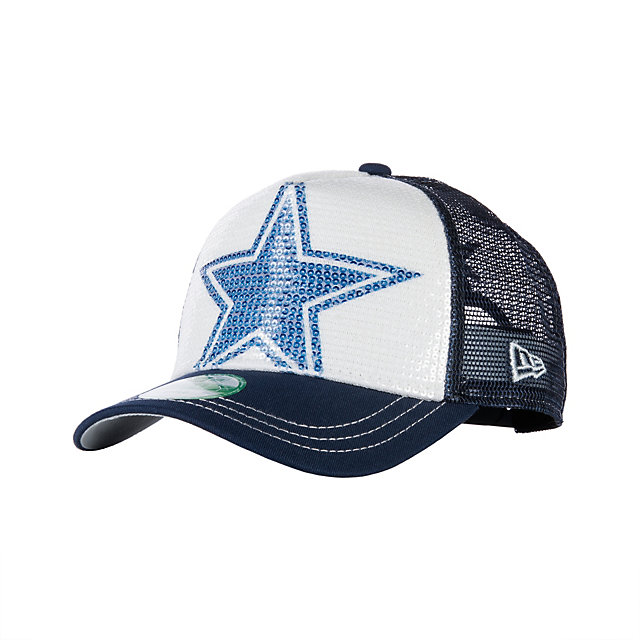 Dallas Cowboys New Era Womens Sequination Cap