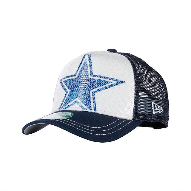 Dallas Cowboys New Era Womens Sequination Cap