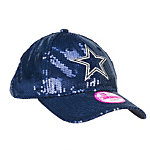 Dallas Cowboys PINK New Era Sequin Hat