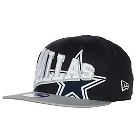 Dallas Cowboys New Era Youth Text Slant 9Fifty