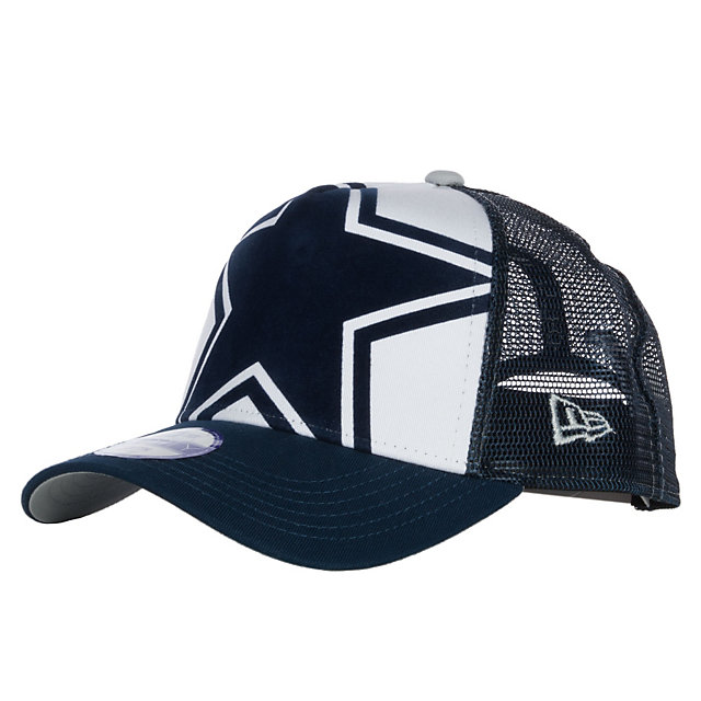 Dallas Cowboys New Era Kids Flocked Frontal 9Twenty