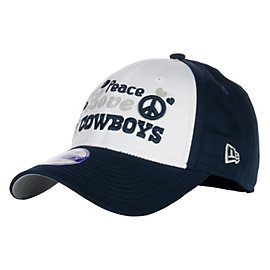 Dallas Cowboys New Era Girls Peace Love Cap