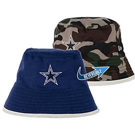 Dallas Cowboys New Era Infant/Toddler Camo Flip Flop Reversible Bucket Cap