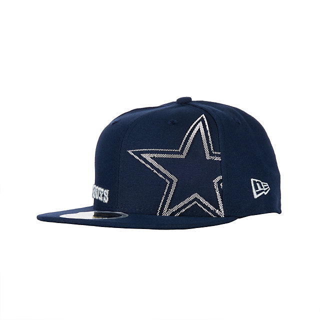Dallas Cowboys New Era Youth Pop Up Print 59Fifty