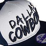 Dallas Cowboys New Era Youth Scratch Mark Snap Cap