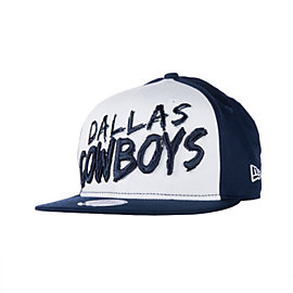 Dallas Cowboys New Era Youth Scratch Mark Snap Cap