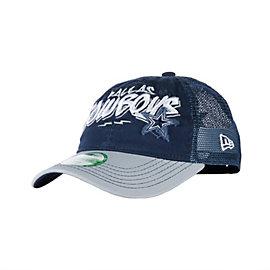Dallas Cowboys New Era Youth Jr Scribble Script Cap