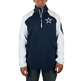 Dallas Cowboys Nike Half Zip Hybrid Top