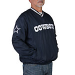 Dallas Cowboys Taslan Pullover Windbreaker