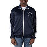 Dallas Cowboys Poly Tricot Track Jacket