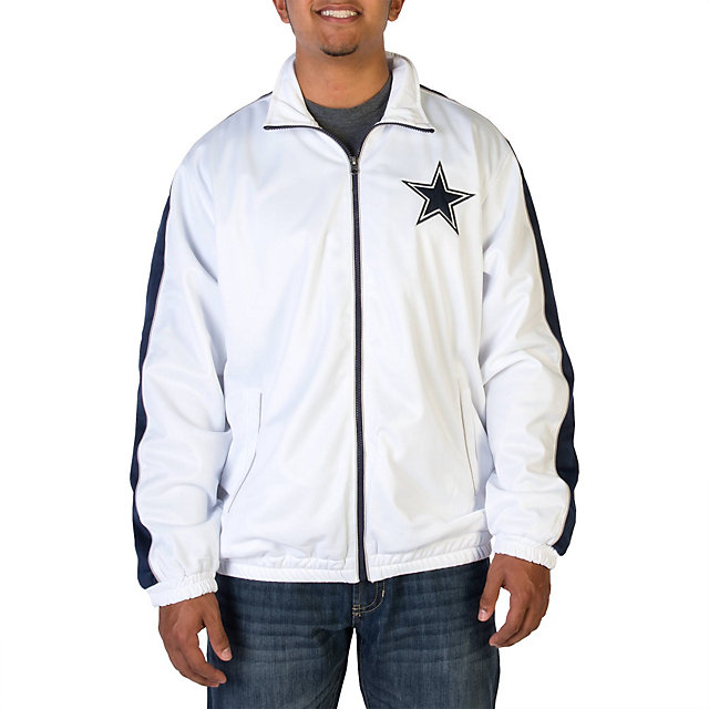 Dallas Cowboys Poly Tricot Track Jacket