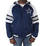 Dallas Cowboys Fleece Hood Full Zip Jacket