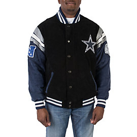 Dallas Cowboys Suede Jacket