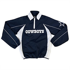 Dallas Cowboys Youth Half Zip Pullover Jacket