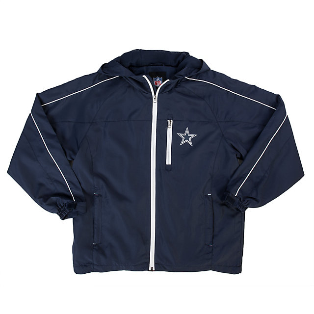 Dallas Cowboys Youth Hooded Full Zip Jacket
