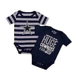 Dallas Cowboys Cuteness Bodysuit Set