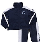 Dallas Cowboys Little Bit Windsuit Set