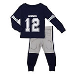 Dallas Cowboys Junior Long Sleeve Sleep Set