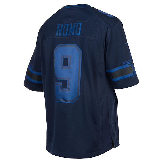 Dallas Cowboys Tony Romo #9 Nike Drenched Jersey
