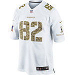Dallas Cowboys Nike Salute To Service Camo Witten Game Jersey