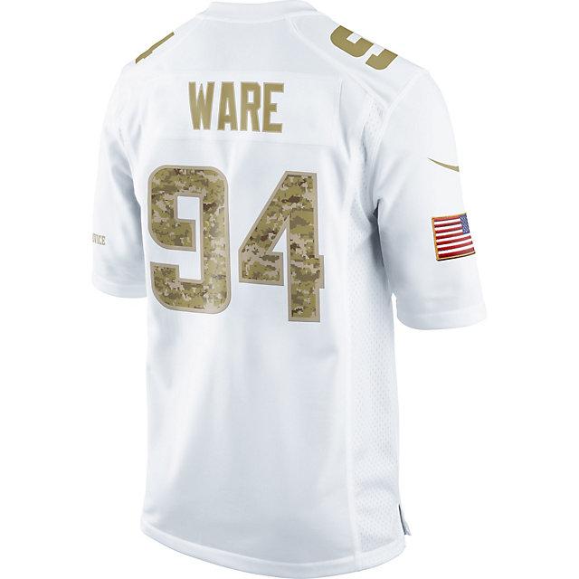 Dallas Cowboys Nike Salute To Service Camo Ware Game Jersey