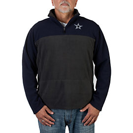 Dallas Cowboys Resolve Quarter Zip Microfleece Jacket