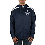 Dallas Cowboys Nike Shield Nailhead Full Zip Hoody