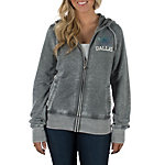 Dallas Cowboys Poppy Burnout Hoody