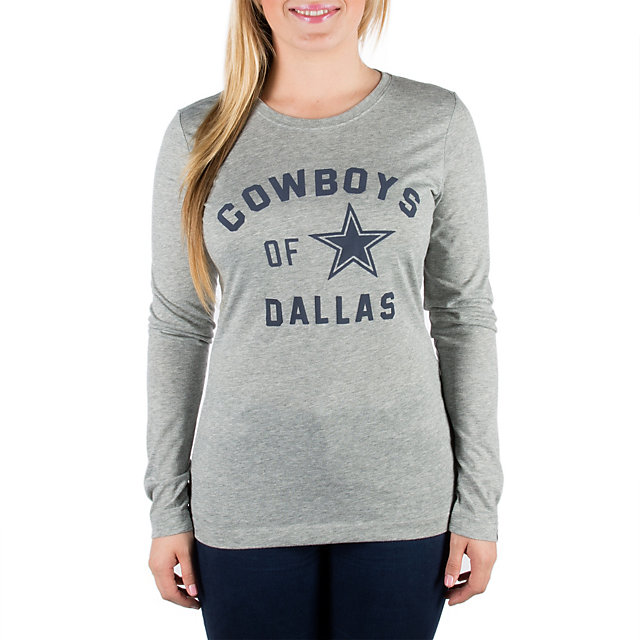 Dallas Cowboys Nike Womens Long Sleeve of the City Crew