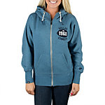 Dallas Cowboys Nike Womens Washed Full Zip Hoody