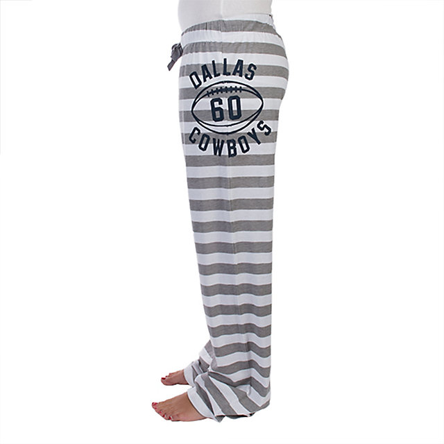 Dallas Cowboys Rose Striped Jersey Pant