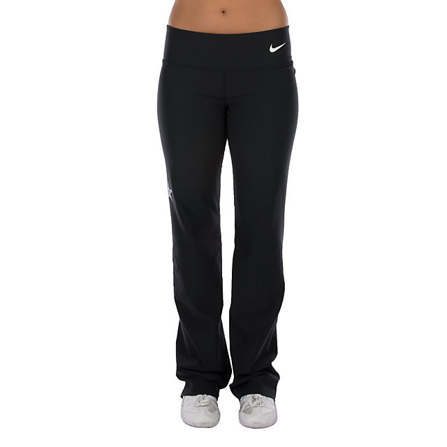 Brilliant NIKE WOMENS DRIFIT TRAINING PANTS BE STRONG BLACK SMALL 472349 NWT